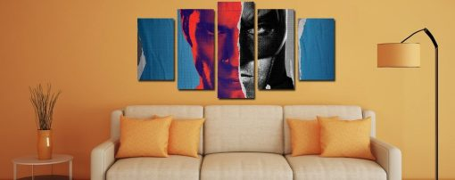 Batman Contra Superman Quadro Decorativo