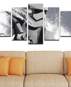 Quadro Stormtrooper Decorativo Canvas Star Wars.