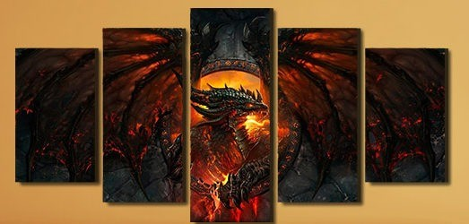 Quadro Canvas Cataclysm