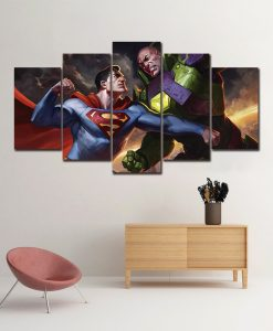 quadro lex luthor versus superman