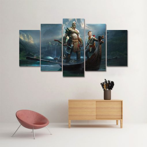 Quadro Drakkar God of War 4