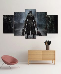 quadro-canvas-bloodborne-game
