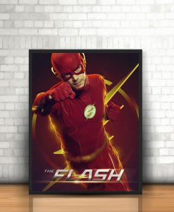 Quadro The Flash Moldura